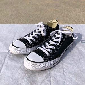 Black Converse Chuck Taylor All Star Low Top